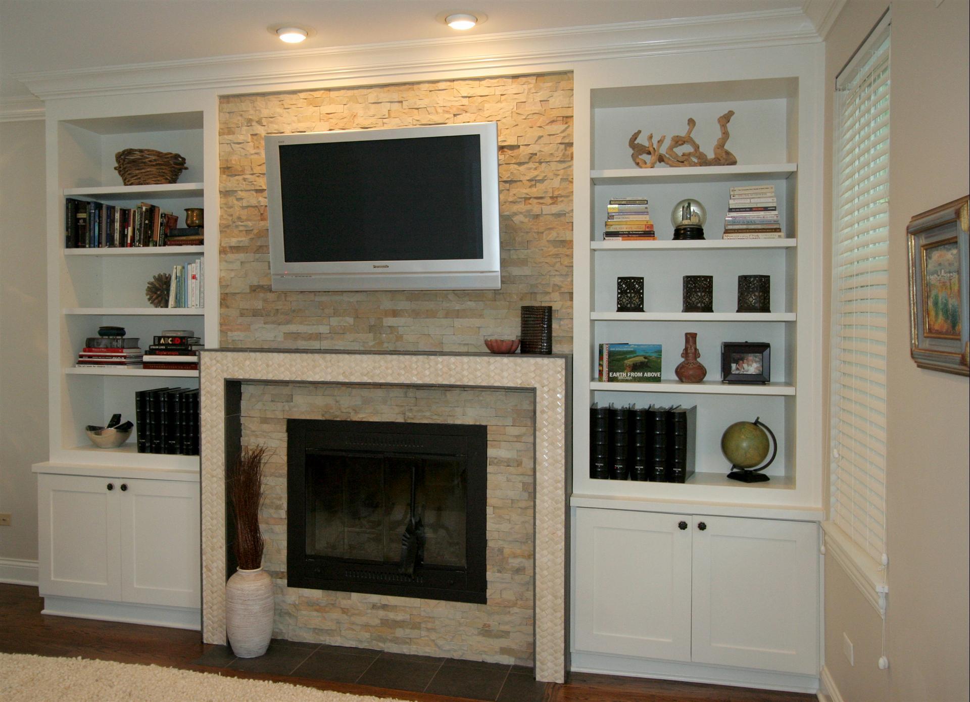 Fireplace Shelving Built In Stratagem